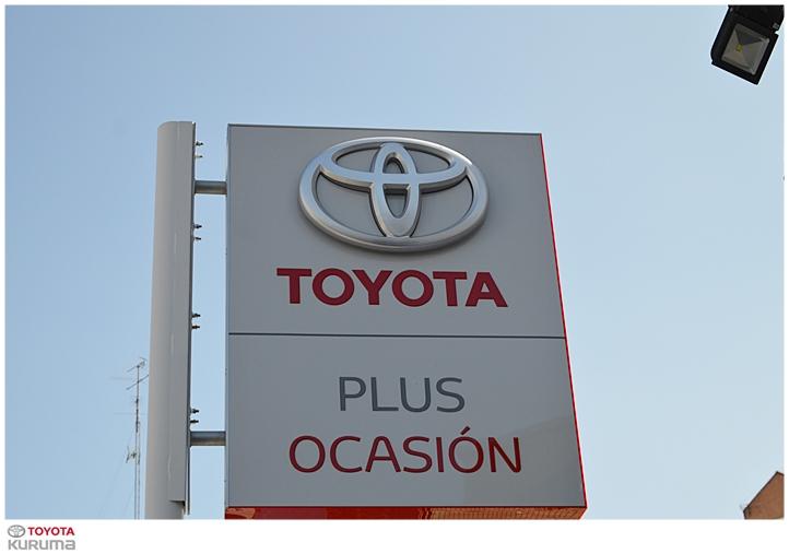 Venta de coches km0 seminuevos y ocasión Toyota Plus